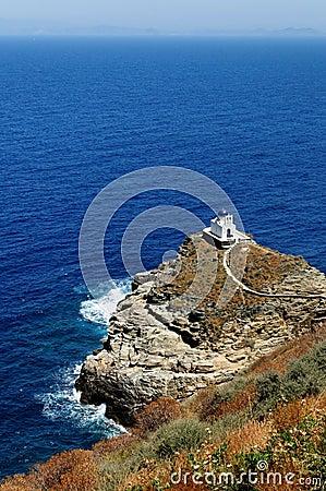 Greek church on Sifnos island