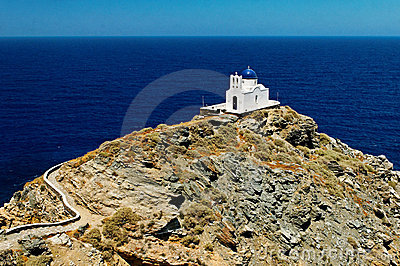Greek church on Sifnos island