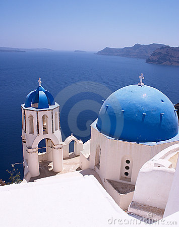 Greek Churches Stock Photography - Image: 30352