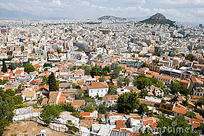 Greek city, Athens