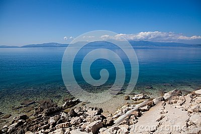 Greek Coastline Royalty Free Stock Photo - Image: 15181795