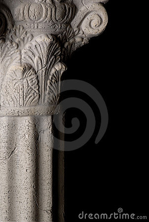Free Greek Column Royalty Free Stock Photo - 2487075