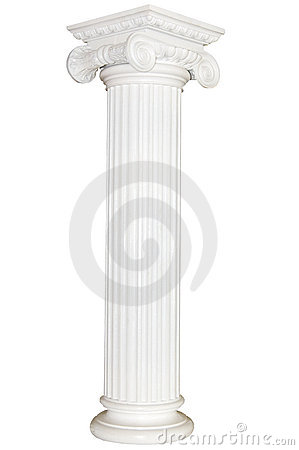 Free Greek Column Royalty Free Stock Image - 6838646
