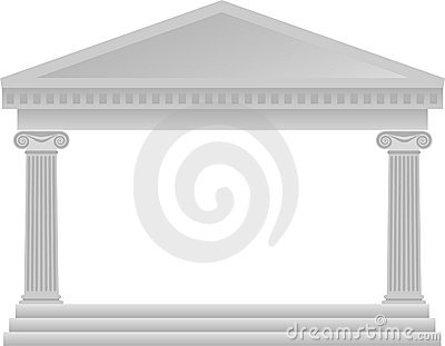 Greek Column Architecture/eps