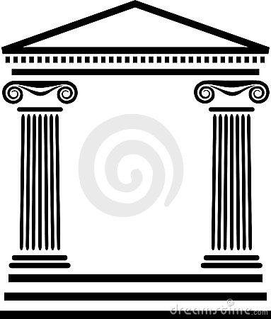 Free Greek Columns Architecture/eps Royalty Free Stock Image - 4454516