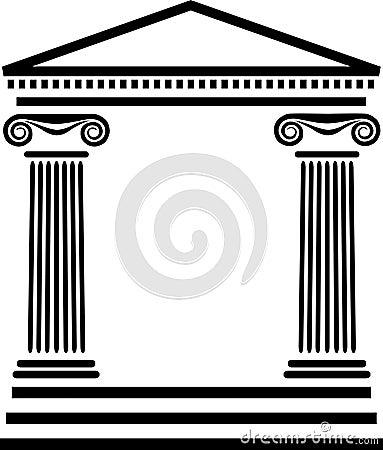 greek columns demeanor