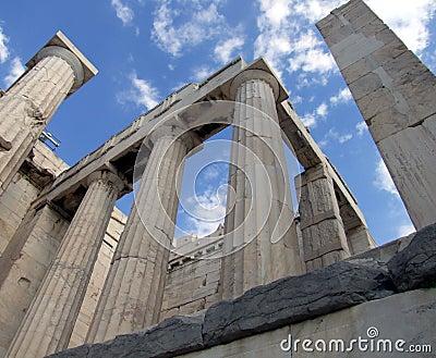 Greek doric columns