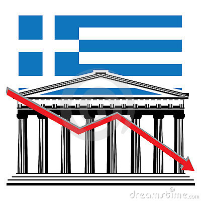 Greek financial crisis graph