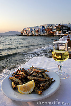 Greek Food and Wine with