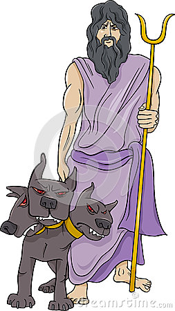 greek god hades cartoon illustration stock vector image hades god clipart Hades Greek God Clip Art