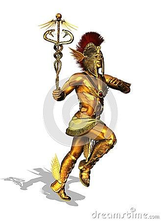 Greek God Mercury Stock Photo - Image: 28098650