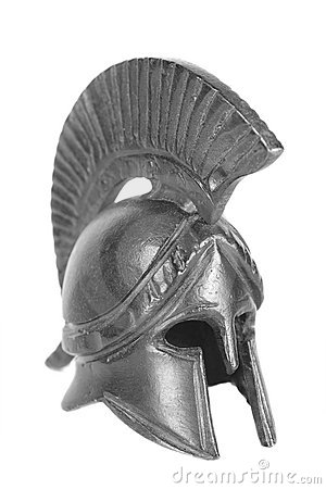 Free Greek Helmet Royalty Free Stock Photo - 2527785