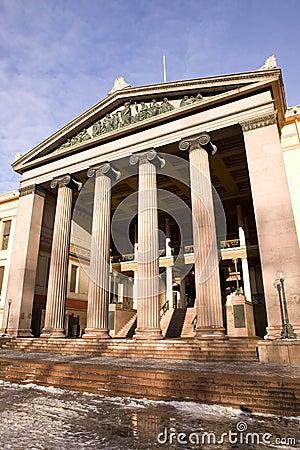 Free Greek Ionic Column Royalty Free Stock Photos - 1961168