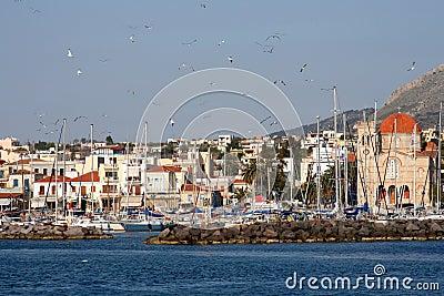 Greek island Aegina