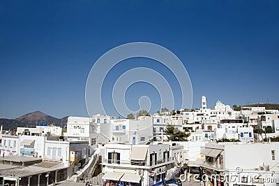 Greek Island architecture Adamas Milos