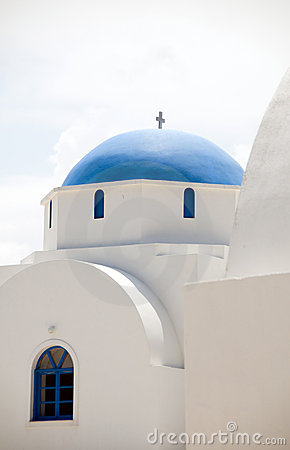 Greek Island Church Antiparos Cyclades Greece