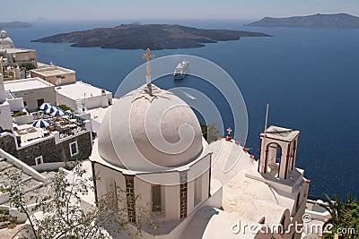 Greek Island Church (Santorini)