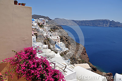 Greek island of Santorini