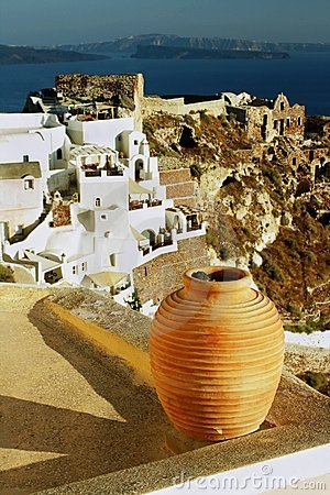 Greek island of Santorini -Oia