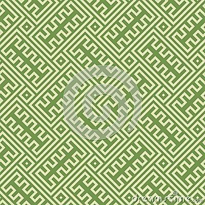 Greek Key Infinity Seamless Background Texture