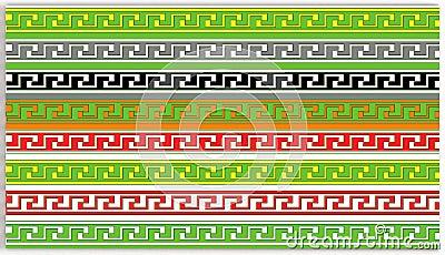 Greek key patterns
