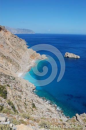 Greek landscape, amorgos island