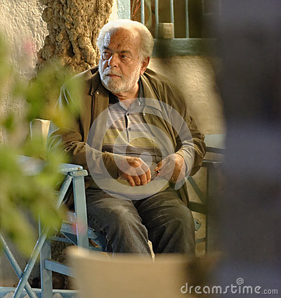 Greek man Editorial Stock Photo