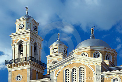 Greek orthodox cathedral in Kalamata, Greece