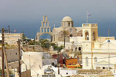 Greek Orthodox church of Fira