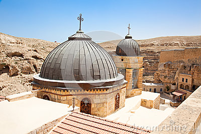 Greek Orthodox monastery in Judean desert