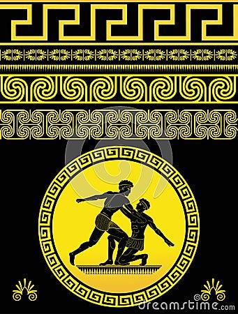Free Greek Pattern Stock Photo - 13207800