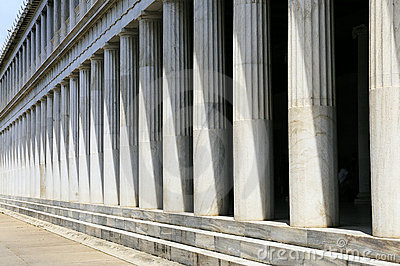 Greek Pillars, Athens