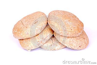 Greek pita breads