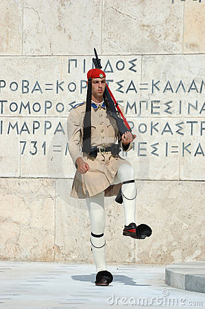 Greek Presidential guard change,Athens,Greece Editorial Stock Image