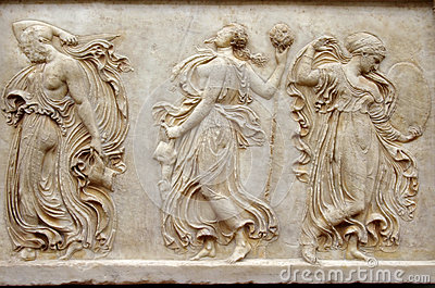 Greek Relief Stock Photo Image 48516838
