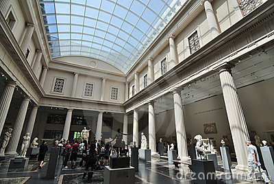 Greek and Roman Gallery Editorial Image
