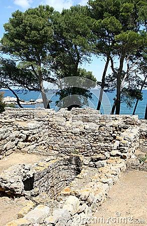 Greek ruins of Empúries in Spanish Catalonia