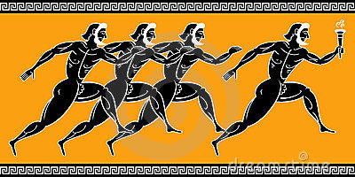 Greek runners