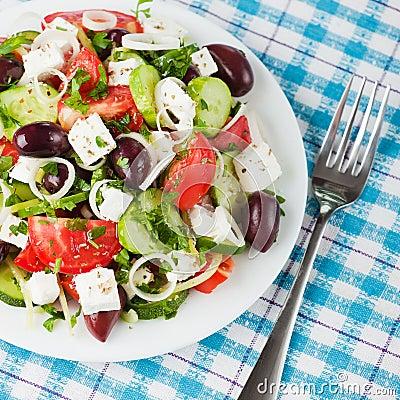 Free Greek Salad Stock Image - 20969761