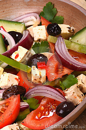 Free Greek Salad Royalty Free Stock Image - 3757156