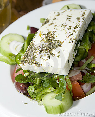 greek salad feta cheese