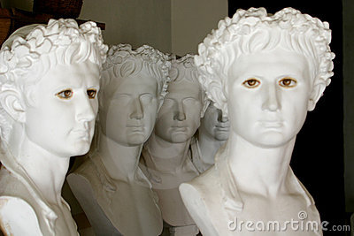 Greek sculptures
