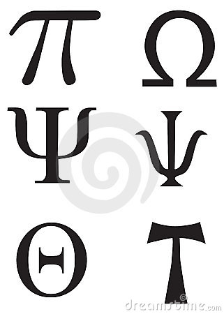 Free Greek Signs And Symbols - Tattoo Stock Images - 8678484