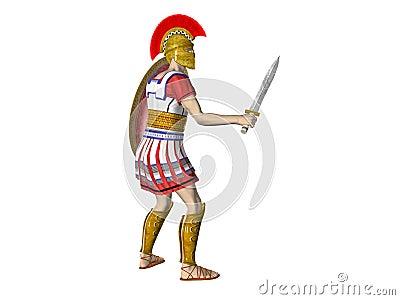 Greek Spartan or Roman Warrior