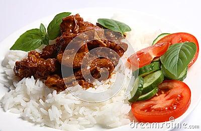 Greek style lamb stew horizontal