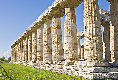 Greek Temple, Paestum Italy
