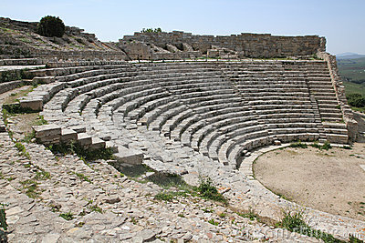 Greek theater (Segesta Sicily Italy)