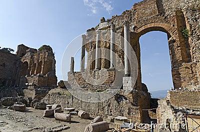 Greek Theater in Taormina