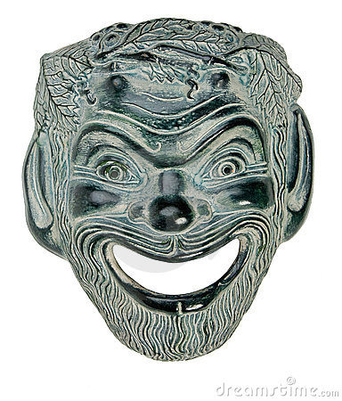 Greek Theatre Mask SATYR