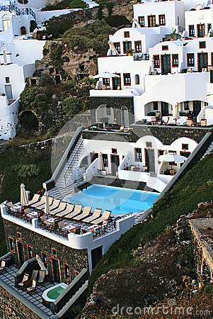 Greek  traditional architecture  in Santorini